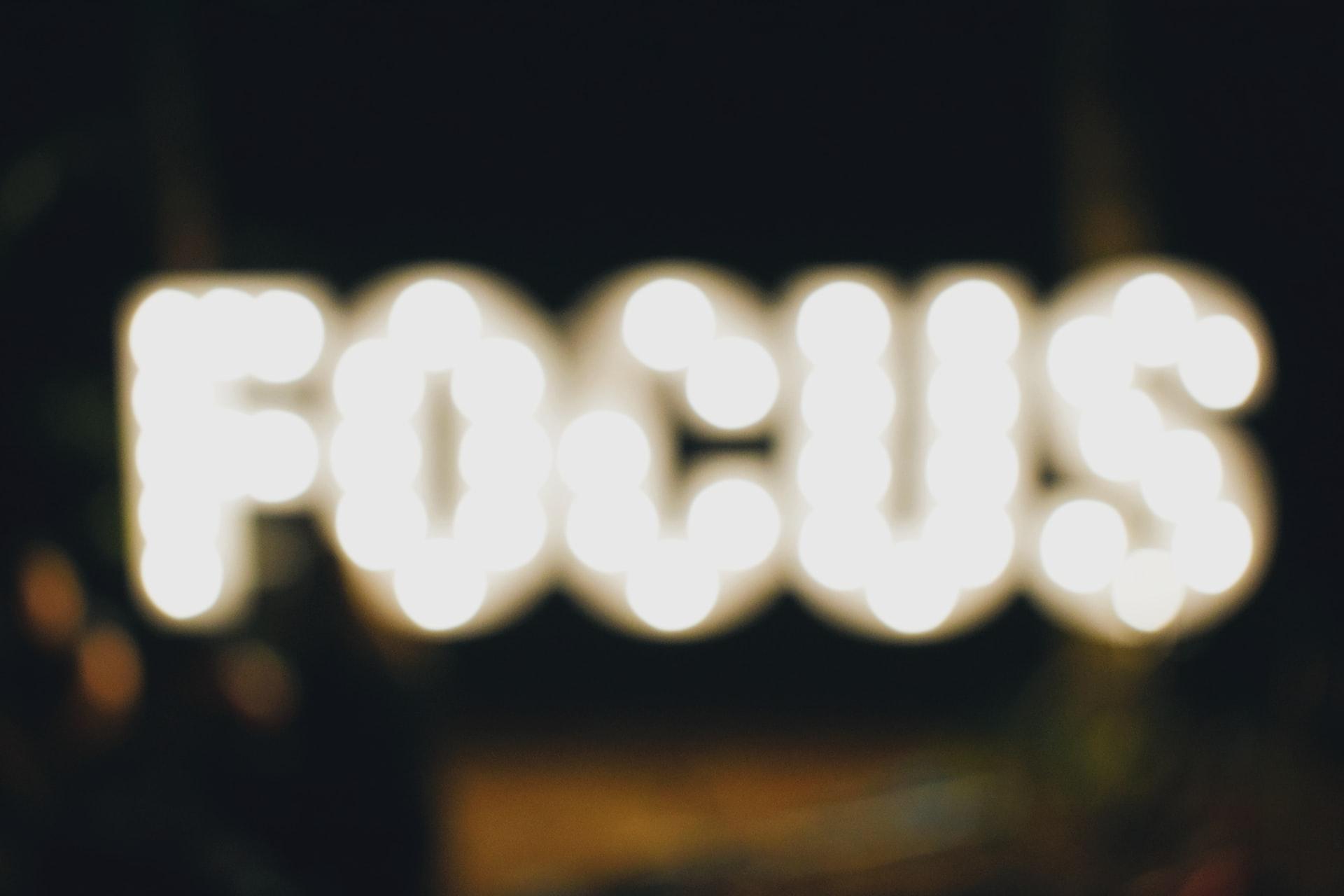 Help Your Team Maintain Focus
